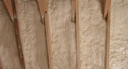 closed-cell spray foam for London applications